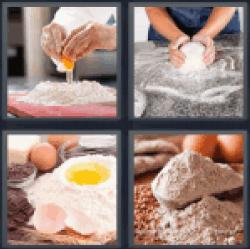 4-pics-1-word-flour
