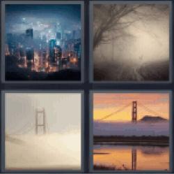 4-pics-1-word-foggy