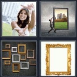 4-pics-1-word-frame