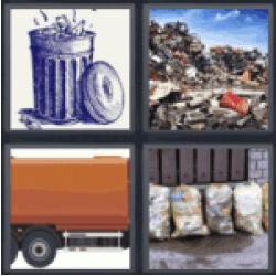 4-pics-1-word-garbage