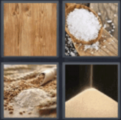 4 pics 1 word wooden plank