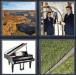 4 pics 1 word the grand canyon