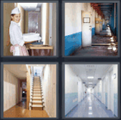4-pics-1-word-hallway
