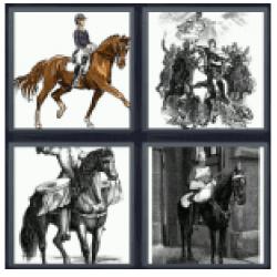4-pics-1-word-horseman