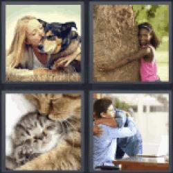 4-pics-1-word-hugging