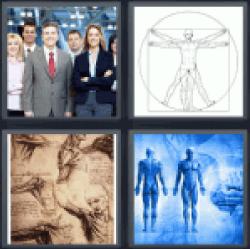 4-pics-1-word-human