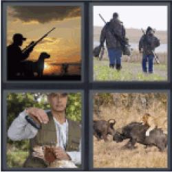 4-pics-1-word-hunting