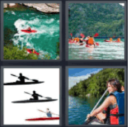 4-pics-1-word-kayak