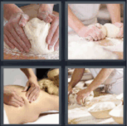 4-pics-1-word-knead
