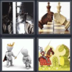 4-pics-1-word-knight