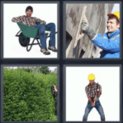 4-pics-1-word-laborer