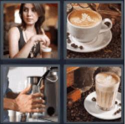 4-pics-1-word-latte