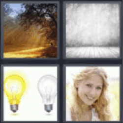 4 pics 1 word beams of light