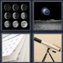 4-pics-1-word-lunar