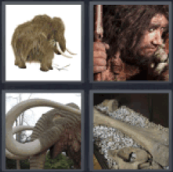 4-pics-1-word-mammoth