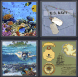 4-pics-1-word-marine