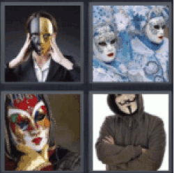 4-pics-1-word-masked