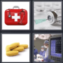 4-pics-1-word-medical