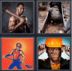 4-pics-1-word-miner