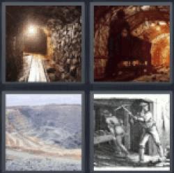 4-pics-1-word-mining