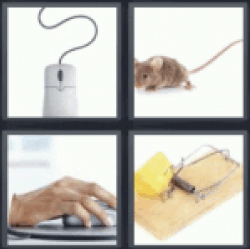 4 pics 1 word computer mouse