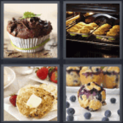 4-pics-1-word-muffin