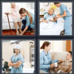 4-pics-1-word-nurse