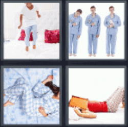 4-pics-1-word-pajamas