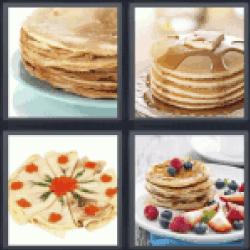 4-pics-1-word-pancake