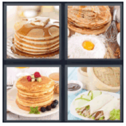 4-pics-1-word-pancakes