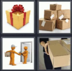 4-pics-1-word-parcel