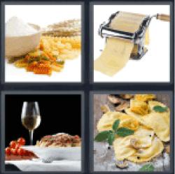 4-pics-1-word-pasta