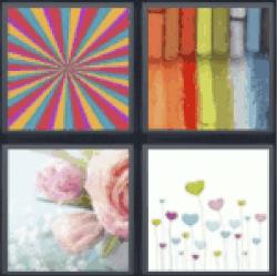 4-pics-1-word-pastel