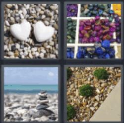 4-pics-1-word-pebbles