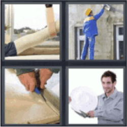 4-pics-1-word-plaster