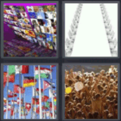 4 pics 1 word lots of pictures