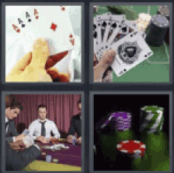 4 Pics 1 Word Four aces