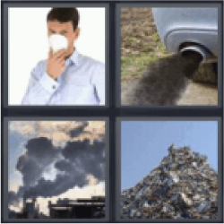 4-pics-1-word-pollute