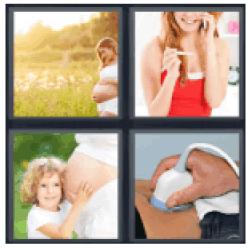 4-pics-1-word-pregnant