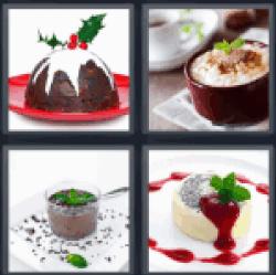 4-pics-1-word-pudding