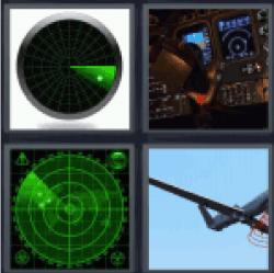 4-pics-1-word-radar