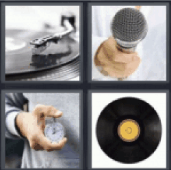 4 pics 1 word turntable