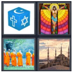 4-pics-1-word-religion