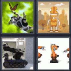 4-pics-1-word-robot
