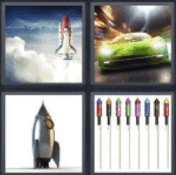 4-pics-1-word-rocket