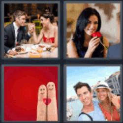 4-pics-1-word-romance