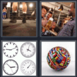 4 pics 1 word boxing match