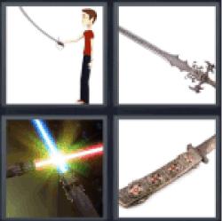 4-pics-1-word-saber
