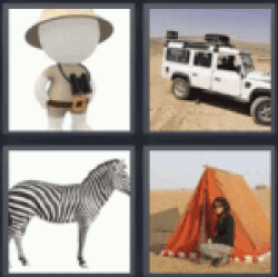 4-pics-1-word-safari