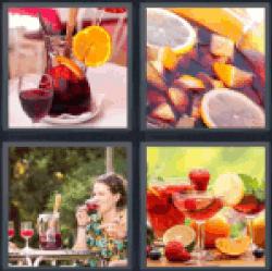 4-pics-1-word-sangria
